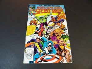 Secret Wars #1 - Marvel May 1984 - High Grade (VF)