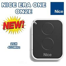 Nice ON2E, Nice ERA ONE 2-ch remote control (works with FloR) new version of ON2