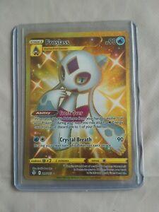 FROSLASS 226/203 POKEMON EVOLVIN SKIES GOLD SECRET RARE CARD PACK FRESH