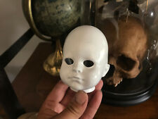 Cabinet of Curiosities Oddities Macabre half Head Atttachment Tool Doll Resin