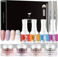 TOMICCA Dipping Powder Starter Kit Nail Acrylic Light Pink Women Nails Gift