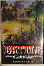 WW2 British US Battle Normandy 1944 Life Death in Heat of Combat Reference Book
