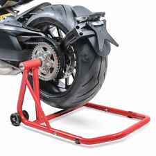 Rear Paddock Stand ConStands Ducati Diavel red motorbike single swing arm