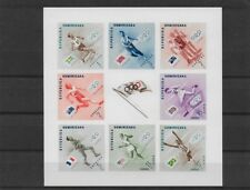 DOMINICANA REPUBBLICA MELBOURNE 1956 VINCITORI + FLAG OLYMPIC 1957 IMPERF ** MNH