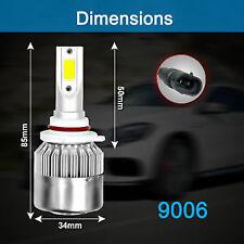 H1 H7 H11 C6 LED Headlight Conversion Kit COB Bulbs 36W 6000K White High Light