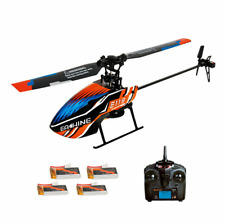 Eachine E119 2.4G 4CH 6-Axis Gyro Flybarless RC Helicopter RTF 4pcs Batteries