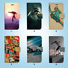 Skate Skateboard Wallet Case Cover iPhone XS MAX XR X 8 7 6 6S Plus SE 5S 039