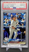 2018 Topps Update Gleyber Torres PSA 10 Rookie Card RC #US200 Yankees GEM MINT