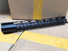 "15"" Ultra-Light super slim Handguard Free Float Keymod Clamp-on (15GNR)"