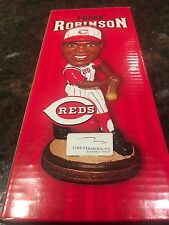 Frank Robinson Bobblehead SGA Cincinnati REDS 7/25/07 plus GAME TICKET