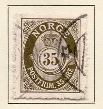 Norway 1917-20 Early Issue Fine Used 35ore. 123271