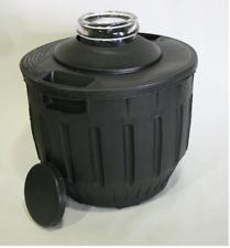 Garrafa de 16 litros de boca ancha con funda fuerte