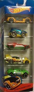 2013 Mattel Ultimate Racing RACE Hot Wheels 5 Pack T8637 - Stock In Australia
