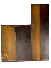 Figured Cocobolo Rosewood Dreadnought Guitar Back & Side Set Luthier Tonewood#13