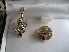 Gold Butler Wilson Costume Brooches & Pins