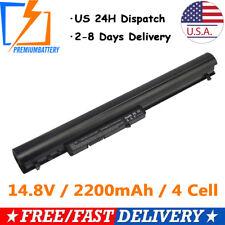 Battery For HP Pavilion TouchSmart 14 15 Notebook PCs F3B96AA 728460-001 PB