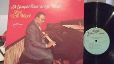 REVERAND ORIS MAYS GOSPEL STAR AT HIS BEST ON JEWEL  RECORDS