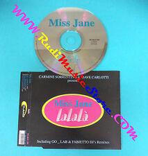 CD Singolo Miss Jane LaLaLà HTL 00.01 CDS ITALY 2000 SIGILLATO no mc lp vhs(S13)