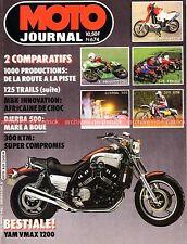 MOTO JOURNAL  674 SUZUKI GSX 1150 KAWASAKI Z1135 GG YAMAHA FJ 1100 DT TY KTM 300
