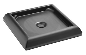 Rubbermaid FG917700BLA Weighted Base Accessory - for Ranger Containers - Black