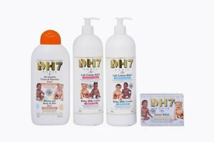 DH7 Baby Cleansing Clearing Milk Lotion KIT  (4)