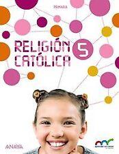 (15).RELIGION CATOLICA 5ºPRIMARIA. NUEVO. Nacional URGENTE/Internac. económico.