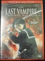 The last vampire (2010) DVD RENT NUOVO Sigillato Creature nel buio Blood