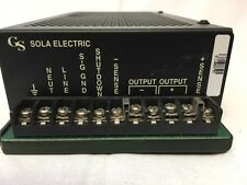 SOLA ELECTRIC 86-24-262 Power Supply 24 VDC @ 6.2A