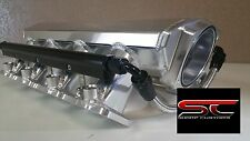 Short TIG Welded LS1 Intake Manifold w/Rails LSX LS2 Cathedral heads Fabricated