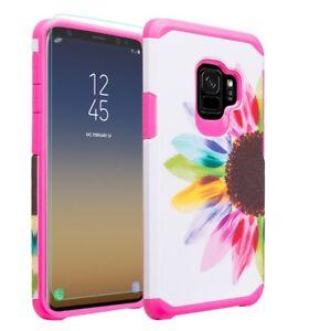 Samsung Galaxy S9 Plus Case SM-G965U Slim Hybrid Dual Shockproof Cover SF