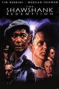 The Shawshank Redemption Movie Poster Print 8x10 11x17 16x20 22x28 24x36 27x40 B
