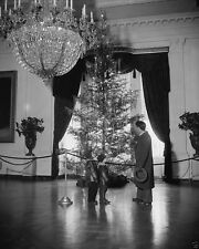 Christmas tree in the East Room of the White House 1937 - New 8x10 Photo