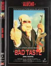 "PETER JACKSON ""BAD TASTE (MAL GUSTO)"" SPANISH DVD / BRAINDEAD LORD OF THE RINGS"