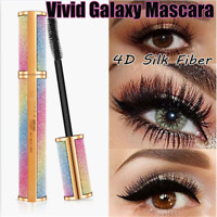 Vivid Galaxy Mascara 4D Silk Fiber Lashes Thick Lengthening Waterproof Mascara t