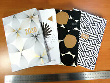 Diary 2020 Art Print with Metallic Highlights A5 Week View Casebound - 4 Designs