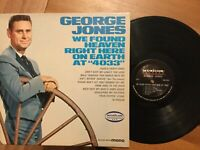George Jones: We Found Heaven Right Here...LP MUSICOR MM-2106 Mono 1966 VG+/NM