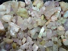 1lb Lot of KUNZITE HIDDENITE SPODUMENE ROUGH Gemstones WHOLESALE Gem Afghanistan