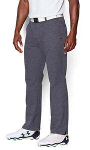 Under Armour Golf Men's Stealth Gray UA Match Play Vented Straight Fit Pants
