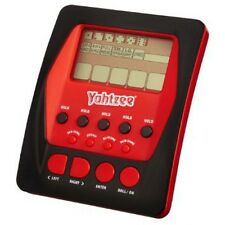 Yahtzee - Handheld Digital Game - Electronic Handheld Game - Black / Red