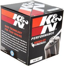 K&N MOTORCYCLE OIL FILTER SUZUKI KN-138 GSXR600 GSXR750 GSXR1000 GSX1300