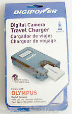 DIGIPOWER DIGITAL CAMERA BATTERY TRAVEL CHARGER FOR OLYMPUS - TC-550