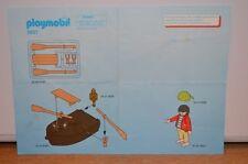 7806 playmobil bouwplan piraat met roeiboot 3937