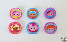 12 Lalaloopsy Friends Together Cup Cake Ring Topper Party Goody Bag Favor Supply
