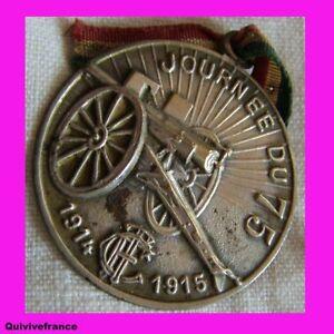 BG1691JOURNEE DU 75 1914-1915 TOUTING CLUB DE FRANCE