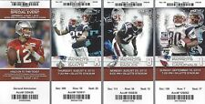 2012 NFL NEW ENGLAND PATRIOTS FULL UNUSED FOOTBALL TICKETS ENTIRE HOME SEASON