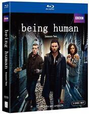 Being Human: Season Two (Blu-ray 3-Disc Set) Season 2 NEW