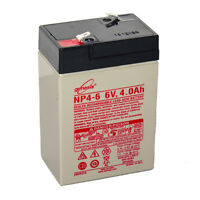 Enersys Genesis 6V 4AH Battery Replacement for Access Battery SLA650