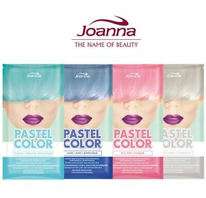 Joanna Pastel Color Temporary Hair Colour Shampoo Semi Permanent Dye Sachet 35g