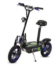 Patinete electrico 2000w scooter patin sillin plataforma ruedas de tacos azul