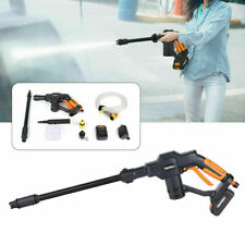 130psi Cordless Pressure Washer Portable Power Cleaner12v Batteryac Charger